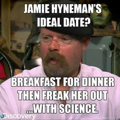 I love breakfast for dinner.. and science is pretty damn cool. :D
