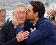 Robert De Niro and Edgar Ramirez - Jean-Paul Pelissier/Reuters