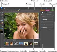 Photoshop Elements Cheat sheet