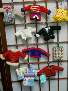 The World In Stitches: TOPPERS TRUNK SHOW (needlepoint ornaments) from STUDIO MIDWEST