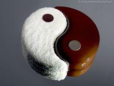 Entremets Yin Yang