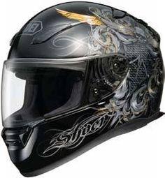 Shoei Safety Helmet Corporation RF-1100 HELMET - WARLORD at Southern Honda Powersports