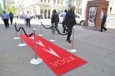 Red Carpet Fashions about to hit the streets of Downtown Calgary!    Calgary Fashion Flashmob 2012  ~ Vogue Calgary ~  www.liveinvogue.com
