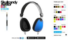 Custom Skullcandy Headphones