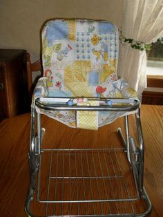 Vintage Baby Seat 1960's