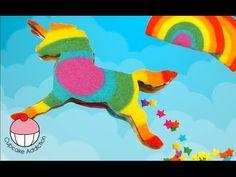 Cookie licorne arc en ciel