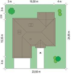 Красивый дом с большим гаражом и с чердачным помещением S8-227-5 (Дом на Парковой). План 3. Shop-project