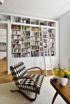 Interiér bytu na Letné
