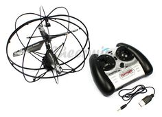 Amazon.com: Robotic UFO 3 Channel I/R Flying Ball Remote Control Helicopter: Kids Authority: Toys & Games