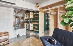 貓咪新樂園 新竹 34 坪三人七貓的清新工業風老公寓 - DECOmyplace 新聞