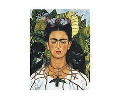 Impresión sobre lienzo Frida Kahlo IV - 55x75 cm