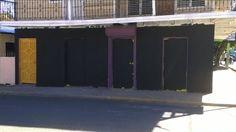De Negro Pintan Local Del PLD En Puerto Plata