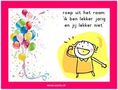 Verjaardagskaartjes   www.nazia.nl – De klas enzo…