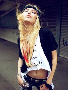 ☆ Rock 'n' Roll Style ☆ Lina Tesch in Saint Noir