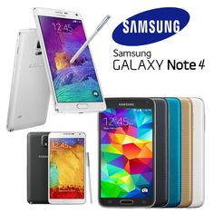 Samsung Galaxy S4/S5/S6/Note3/Note 4 Unlocked Smartphone Grade A+