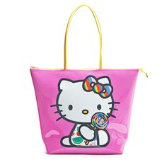 Dylan's Candy Bar Hello Kitty Tote - Pink | Dylan's Candy Bar
