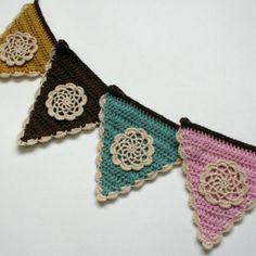 Rosie Crochet Bunting pattern