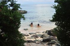Kanaway Beach in Jomalig Island, Quezon Province, Philippines
