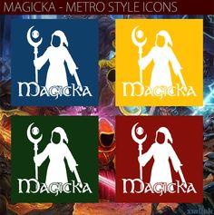 Magicka - Metro style icons by xmilek.deviantart.com on @deviantART