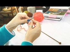 Braided Cast On Knitting Tutorial - YouTube