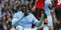 Yaya Touré est remis. (P. Noble/Reuters)