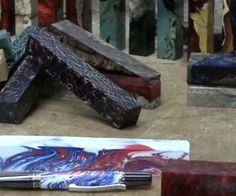 How to cast Pen Blanks with Resin