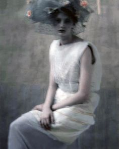 Codie Young living a surreal blur in 'A Black And White Poem' by Sarah Moon for Vogue Turkey March 2012