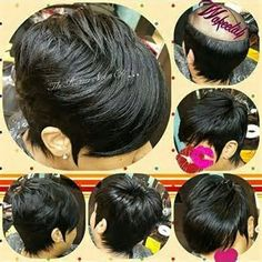 27 Piece Hairstyles For Black People Stylist Feature Love This Pixie Transformation ✂ ❤