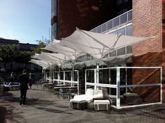 Parasols | Sunshades | Type E Tulip umbrellas | MDT-tex. Check it out on Architonic
