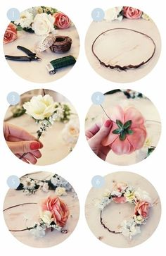 DIY: Flower Crown