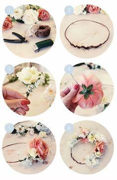 DIY: Flower Crown