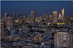 heyfiki:    Tel Aviv at the twilight magic hour by ronsho © on Flickr.