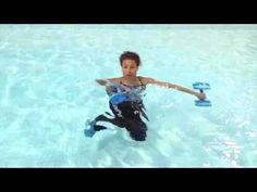 Aqua Instructor tip #43 variation single knee extension - YouTube