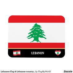 Lebanese Flag & Lebanese country travel / Lebanon Magnet Beirut Lebanon, Gifts For Dad, Magnets, Country, Patriots, Flags, Travel, Holiday, Party