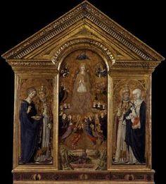 VECCHIETTA The Virgin of the Assumption with Saints 1462-63