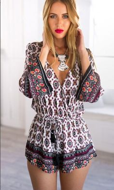 Cheap bodycon jumpsuit, Buy Quality jumpsuit summer directly from China long sleeve floral Suppliers: Sexy Women's Clubwear V-Neck Long Sleeve Floral Bodycon Jumpsuit Summer YRD Bodycon Jumpsuit, Short Jumpsuit, Lace Jumpsuit, Casual Jumpsuit, Floral Playsuit, Playsuit Romper, Denim Romper, Floral Jumpsuit, Overalls Fashion