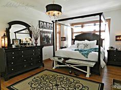DIY WHITE Master Bedroom Makeover (affordable down comforter)