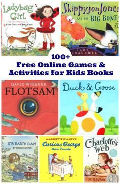 Amazing online games, printable activities and fun book extensions from the best Children's Book Publishers!!