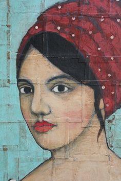 The Red Scarf Portrait | Jane DesRosier