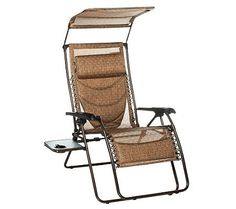 Westfield XL Gravity Free Recliner with Canopy u0026 Padded Lumbar Support  sc 1 st  Pinterest & it looks very conveinient and comfortable Bliss Hammocks XL ... islam-shia.org
