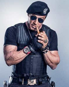 Sylvester Stallone, The Expendables 3 Jackie Stallone, Frank Stallone, Stallone Rocky, Sylvester Stallone Rambo, The Expendables, Zigarren Lounges, Rambo 3, Stallone Movies, Brigitte Nielsen