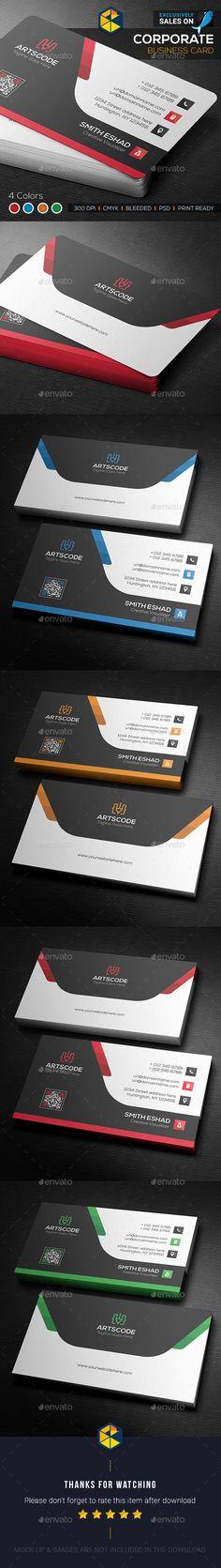 Color Shape Business Card Template PSD. Download here: https://graphicriver.net/item/color-shape-business-card/17424335?ref=ksioks
