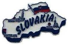 MGI Companies, Inc. - Slovakia - International Country Shaped Map Magnets, $2.89 (http://www.internationalgiftitems.com/slovakia-magnetic-map)