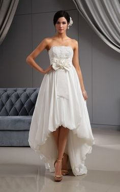 High-low Wedding Dresses | Front-slit Wedding Dresses