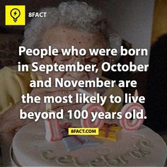 My sister was born in September