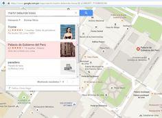 En serio, si ponen en Google Maps el nombre de Martín Belaunde Lossio, aparecerá Palacio de Gobierno del Perú como una de las alternativas. Nosotros ya lo probamos y esto salió. ¿Y cómo sabe Google dónde vivenlos mejores amigos de Belaunde?. Pero, ¿por qué sale esto que es evidentemente un error de Google? (Miren que […]