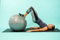 A Swiss ball is one of the most versatile pieces of fitness equipment out there. This workout will strengthen your entire body, especially focusing on your abdominals and other core muscles.