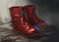 Boots of Mad dashing by Inkary on DeviantArt