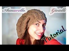 Tutorial cappello lungo uncinetto | How to crochet a slouchy hat - YouTube