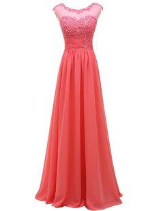 Pretygirl Women's Lace Long Prom Evening Dress Gown Bridesmaid For Wedding *** Trust me, this is great! Click the image. : Prom dresses